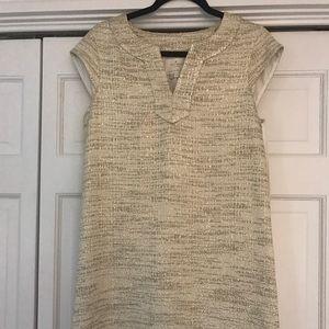 Kate Spade Metallic Gold Dress size 10